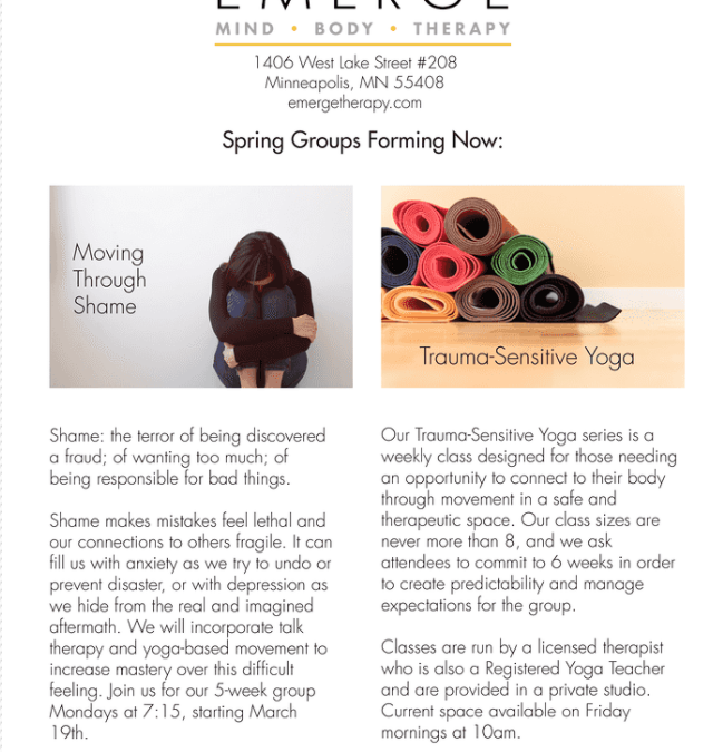 New Spring Groups